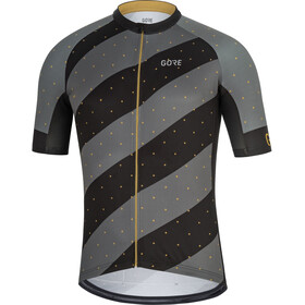 GORE WEAR C3 Maillot de cyclisme Homme, black/golden brass